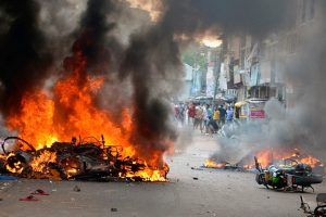 Communal clashes-Reuters