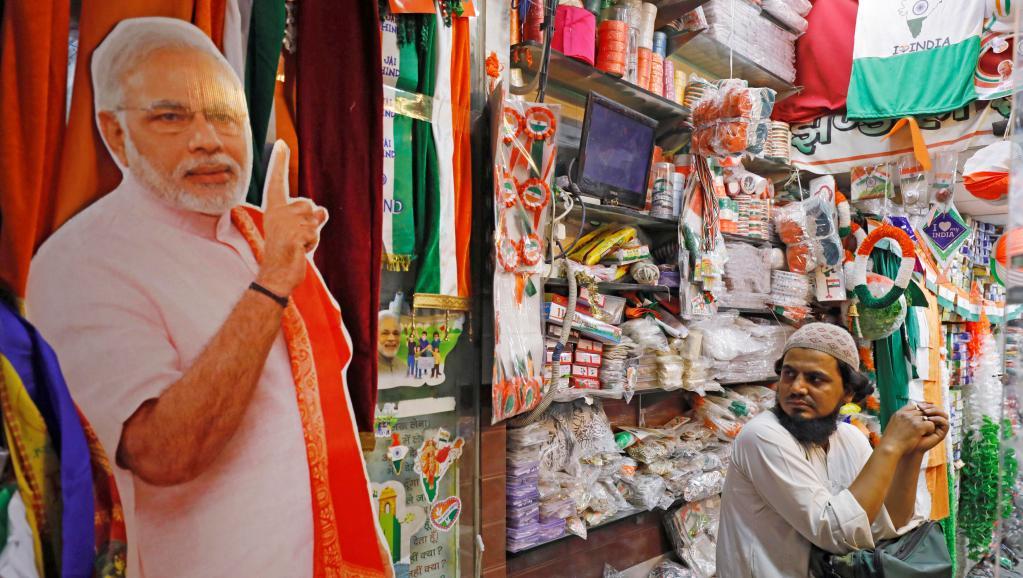 Modi Cut Out election campaign Reuters