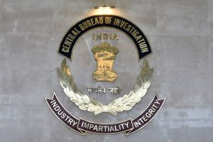 New Delhi: Central Bureau of Investigation (CBI) logo at CBI HQ, in New Delhi, Thursday, June 20, 2019. (PTI Photo/Ravi Choudhary)(PTI6_20_2019_000058B)