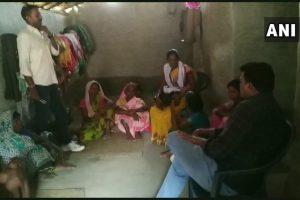 रामचरण मुंडा का परिवार. (फोटो साभार: एएनआई)