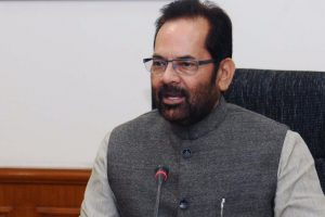 Mukhtar Abbas Naqvi PIB Photo