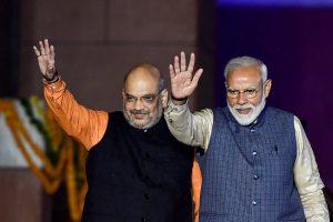 नरेंद्र मोदी और अमित शाह. (फोटो: पीटीआई)