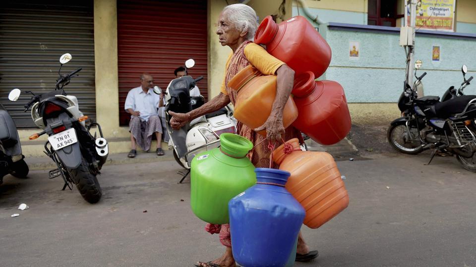 Tamil-nadu-water-crisis PTI File