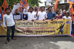 abvp-NRC protest-in-guwahati Network 18
