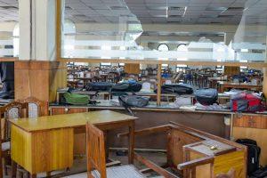 दिसंबर 2019 में जामिया मिलिया इस्लामिया की लाइब्रेरी में की गई तोड़फोड़. (फाइल फोटो: पीटीआई)