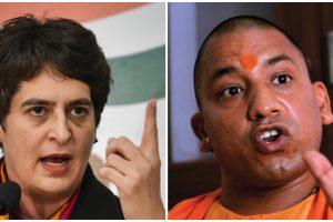 प्रियंका गांधी और योगी आदित्यनाथ. (फोटो: पीटीआई)