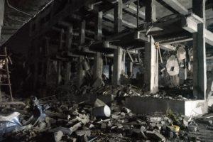 महाराष्ट्र के पालघर जिले में स्थित केमिकल फैक्ट्री में शनिवार शाम करीब सात बजे हुआ विस्फोट. (फोटो साभार: एएनआई)