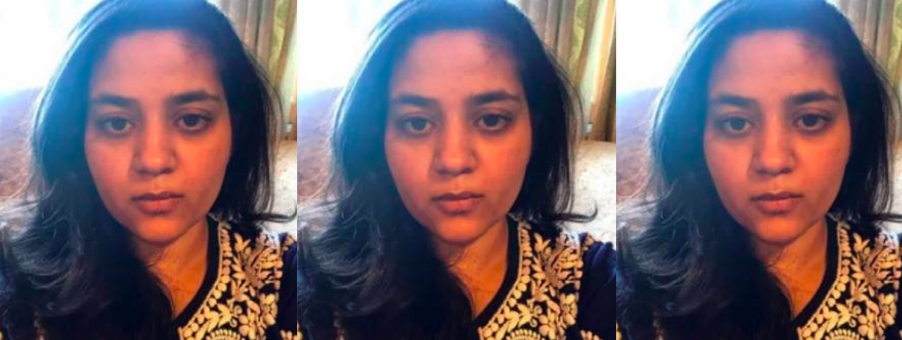 Mehbooba Mufti's daughter Iltija. Photo Twitter