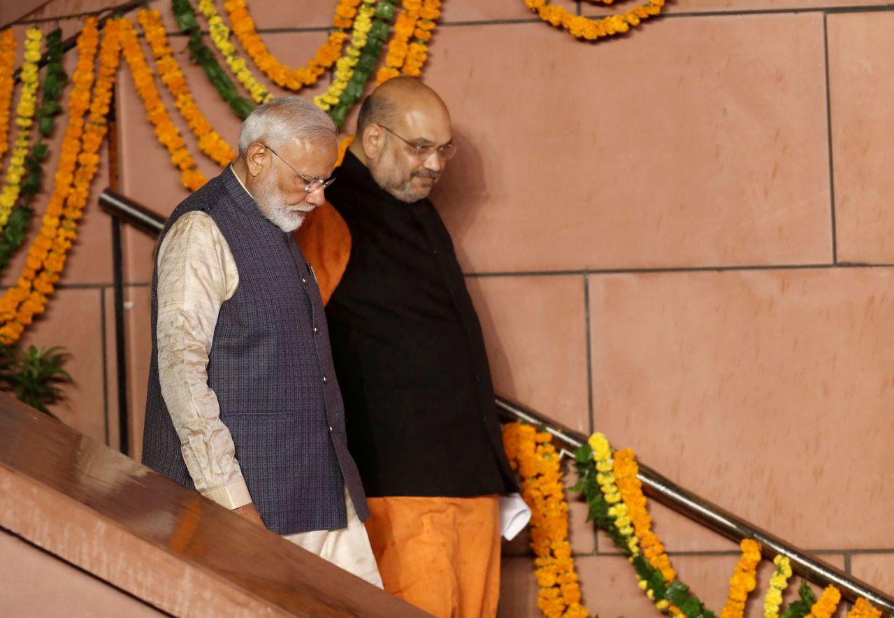 Narendra Modi Amit Shah Reuters