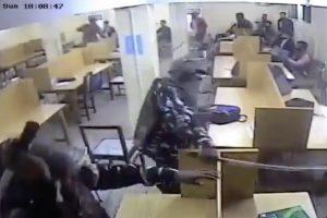 Jamia-Violence CCTV footage