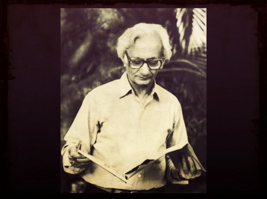 कृष्ण बलदेव वैद (जन्म: 27 जुलाई 1927 - अवसान: 06 फरवरी 2020) [फोटो साभार: राजकमल प्रकाशन]