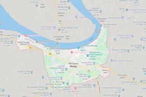 Mirzapur map