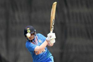 शेफाली वर्मा. (फोटो साभार: ट्विटर/T20WorldCup)