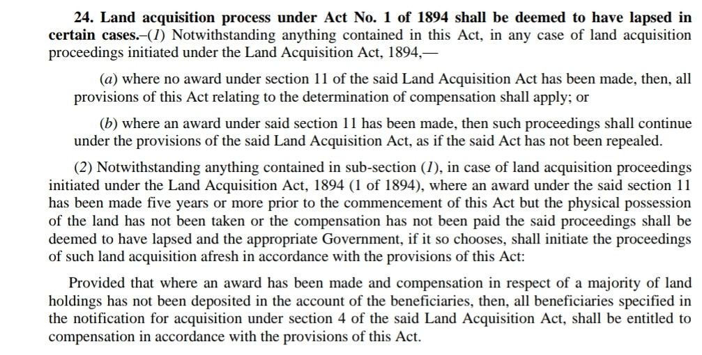 land acquisition act
