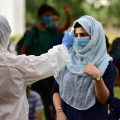 Bhopal: Stranded students from Jammu & Kashmir undergo thermal screening before leaving for their native places, during the ongoing COVID-19 lockdown, in Bhopal, Saturday, May 09, 2020. (PTI Photo)