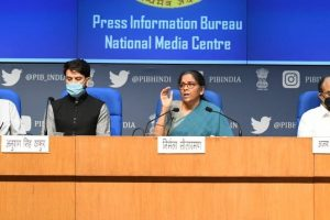 Finance Ministry press conference PIB