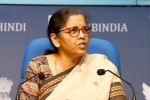 वित्त मंत्री निर्मला सीतारमण. (फोटो साभार: पीआईबी)