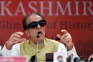 पूर्व केंद्रीय मंत्री एवं जम्मू कश्मीर कांग्रेस के वरिष्ठ नेता सैफ़ुद्दीन सोज़. (फोटो: पीटीआई)