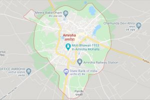 Amroha UP Google Map