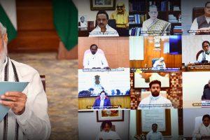 19 जून को सर्वदलीय बैठक में प्रधानमंत्री नरेंद्र मोदी. (फोटो साभार: पीआईबी)