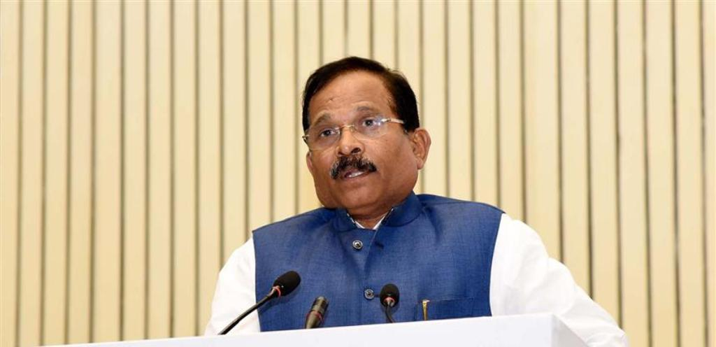 The Minister of State for AYUSH (Independent Charge) and Defence, Shri Shripad Yesso Naik addressing at the Unani Day Celebration-cum-International Conference on Unani Medicine, organised by the Central Council for Research in Unani Medicine, Ministry of Ayush, in New Delhi on February 11, 2020.