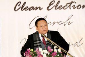 एनपीएफ नेता और पूर्व मुख्यमंत्री टीआर जेलियांग. (फोटो साभार: फेसबुक/@TRZeliang)
