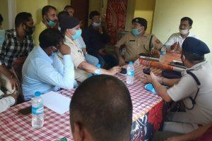असम और मिजोरम के अधिकारियों बीच बैठक. (फोटो: एएनआई)