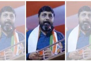 भाजपा नेता मनीष शुक्ला. (फोटो साभार: ट्विटर/बंगाल भाजपा)