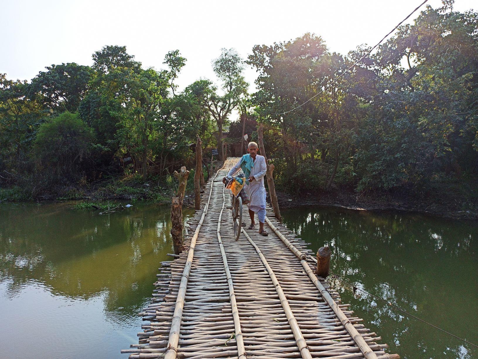 डुमरी गांव का चंचरी पुल. (सभी फोटो: मनोज सिंह)