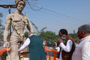 बांकुरा में अमित शाह. (फोटो साभार: ट्विटर/अमित शाह)