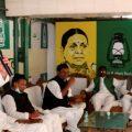 Patna: RJD leader Tejashwi Yadav attends the party legislators meeting in Patna, Thursday, Nov. 12, 2020. (PTI Photo) (PTI12-11-2020 000042B)