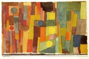 In the Style of Kairouan (1914) by Paul Klee. (साभार: Wiki Art)