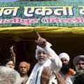 New Delhi: Bharatiya Kisan Union (BKU) spokesperson Rakesh Tikait at Ghazipur during the ongoing farmers' protest, in New Delhi, Sunday, Jan. 31, 2021. (PTI Photo/Atul Yadav)(PTI01_31_2021_000166B)