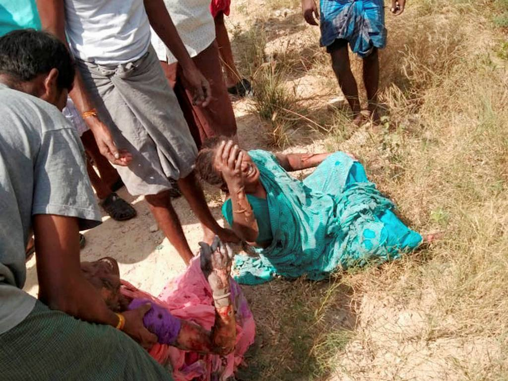 Virudhunagar: Injured workers after an explosion ripped through a fireworks factory near Sattur, in Virudhunagar district, Friday, Feb. 12, 2021. At least 11 workers were killed and 36 injured. (PTI Photo)(PTI02 12 2021 000239B)