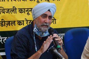 राष्ट्रीय किसान मजदूर संगठन के अध्यक्ष वी.एम. सिंह (फोटो: पीटीआई)