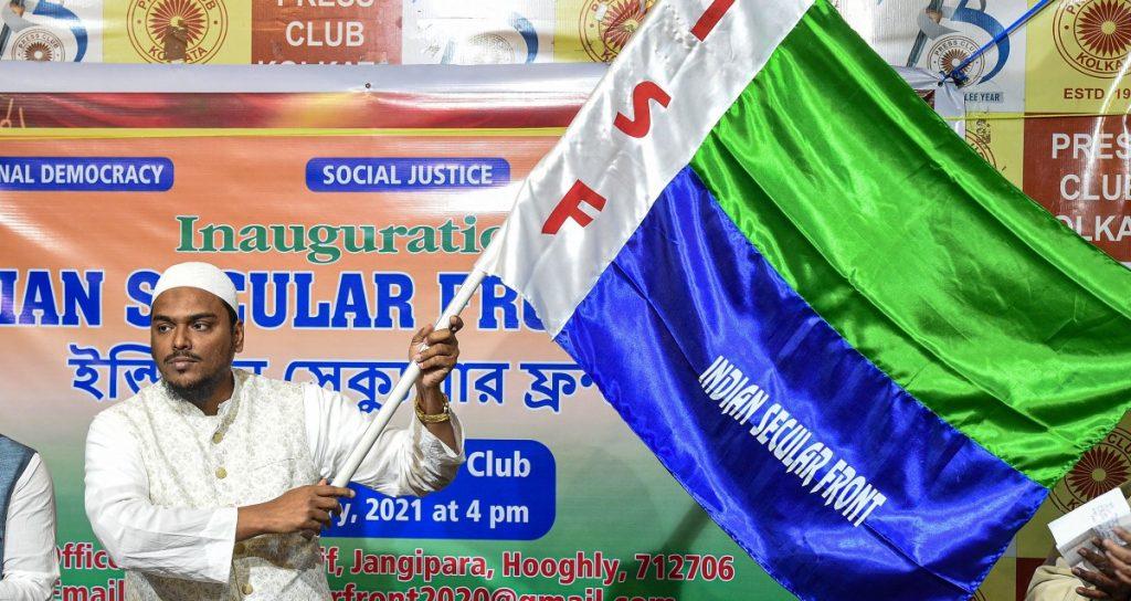 हुगली के फुरफुरा शरीफ के एक प्रभावशाली मौलवी अब्बास सिद्दीकी ने बीते जनवरी में आगामी विधानसभा चुनाव के मद्देनजर अपनी नई पार्टी इंडियन सेकुलर फ्रंट शुरू की है. (फोटो: पीटीआई)