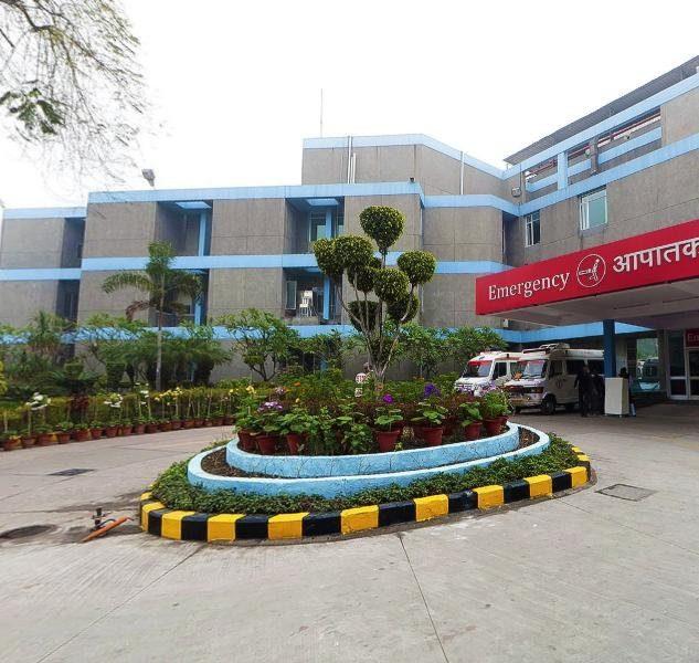 जयपुर गोल्डन अस्पताल. (फोटो साभार: ट्विटर)