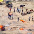 Corona Dead Bodies Ganga Ghat Reuters