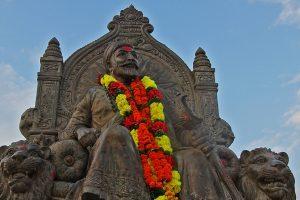 Shivaji_Maharaj_Raigad Wikimedia 1