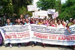 Imphal Gangrape Protest NE LIVE