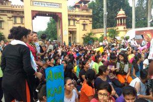 BHU Girls Protest