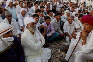 राजस्थान में आरक्षण को लेकर गुर्जरों का प्रदर्शन. (फाइल फोटो: पीटीआई)