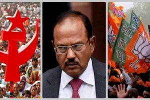 CPIM Doval BJP Reuters PTI