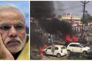 नरेंद्र मोदी और भीमा-कोरेगांव हिंसा. (फोटो साभार: पीटीआई/एएनआई)