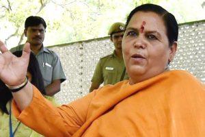 मध्य प्रदेश की पूर्व मुख्यमंत्री और भाजपा की वरिष्ठ नेता उमा भारती. (फोटो: पीटीआई)