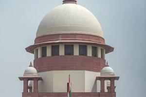 New Delhi: A view of the Supreme Court, in New Delhi, on Thursday. (PTI Photo / Vijay Verma)(PTI5_17_2018_000040B)