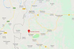 Agartala Map