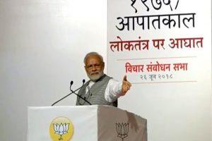 Modi Emergency Mumbai BJP Twitter 2
