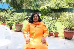 उत्तर प्रदेश में बहराइच से भाजपा सांसद सावित्री बाई फुल. (फोटो: द वायर)