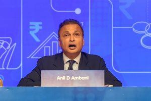Mumbai: Anil Ambani, Chairman, Reliance Group, addresses during the annual general meeting of Anil Dhirubhai Ambani Group (ADAG), in Mumbai, Tuesday, Sept 18, 2018. (PTI Photo/Mitesh Bhuvad)(PTI9_18_2018_000027B)